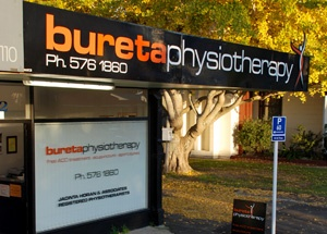 bureta physiotherapy store front